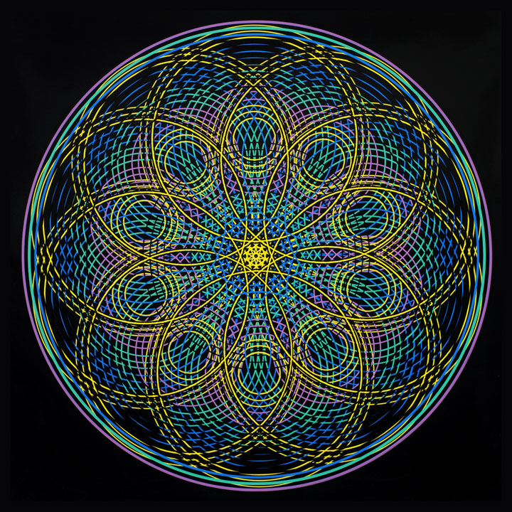 Mandala Sacred Geometry - Sincerity