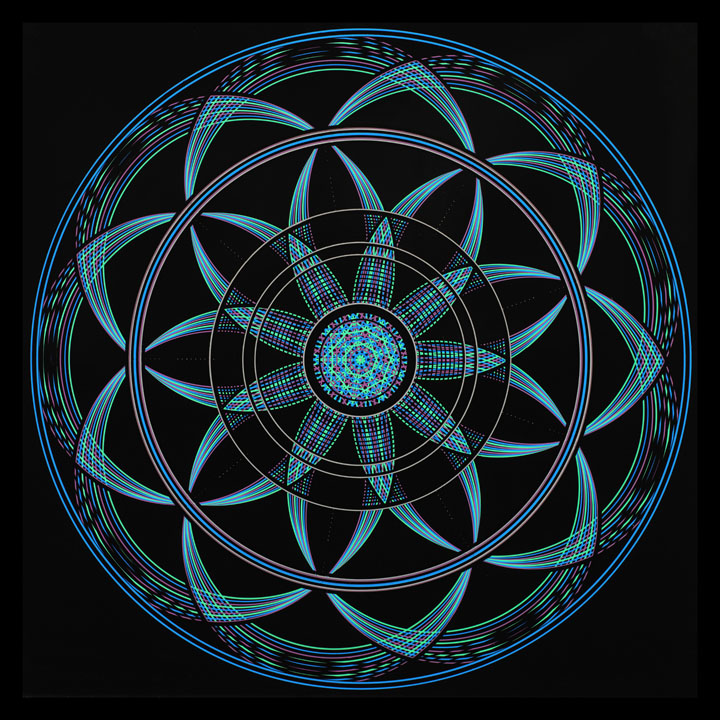Mandala Sacred Geometry - Bliss