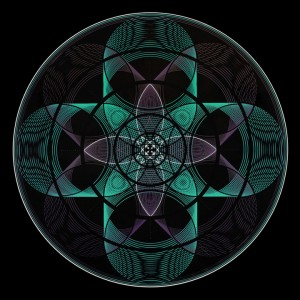 Mandala Sacred Geometry - Prayer of Union
