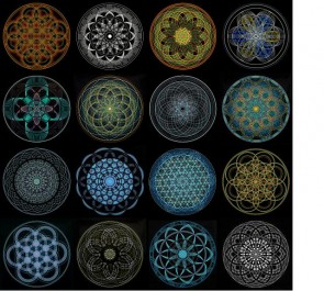 Sacred Geometry - Mindflowers Collection